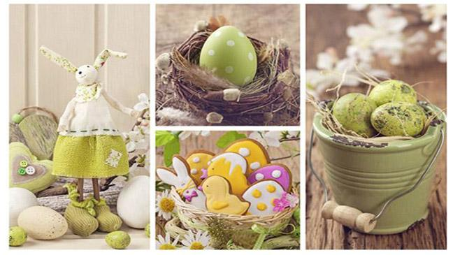 contemporary easter chic - Easter Decorating Ideas
