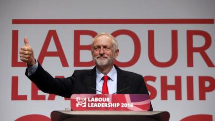 Corbyn calls for unity after Labour leadership re-election ...