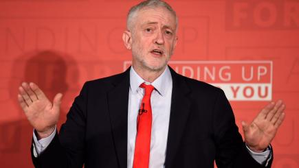 Jeremy Corbyn rules out second Brexit referendum