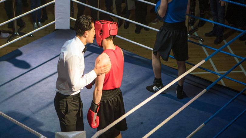 david josh boxing match corrie