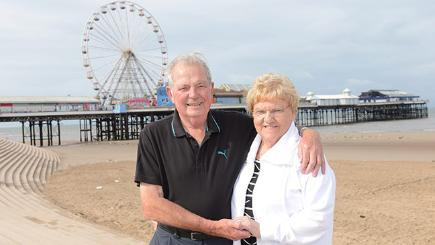Couple holiday in Blackpool 50 years running