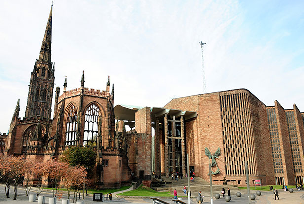 Coventry Cathedral today
