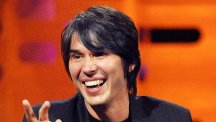 Professor Brian Cox says the world is in danger because humans can't get their priorities straight
