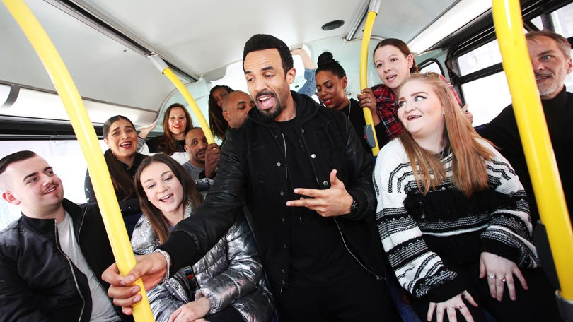 Craig David Surprises Bus Passengers With Impromptu Performance