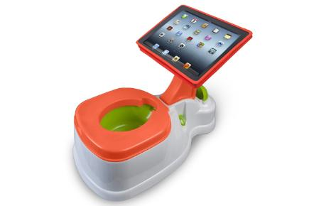 CTA Digital 2-in-1 Potty with Activity Seat for iPad