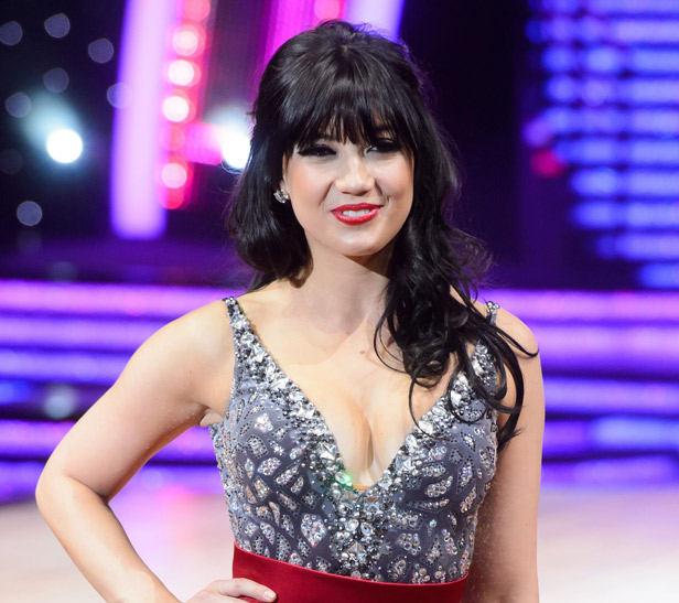 Daisy Lowe on Strictly