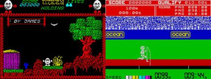 Sinclair Spectrum games Daley and Dizzy