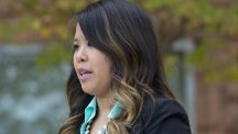 Nurse Nina Pham was diagnosed with Ebola after treating an infected man at a Dallas hospital but is now free of the virus (AP)