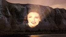 An image of Dame Vera Lynn will be projected on to the white cliffs (Decca Records)