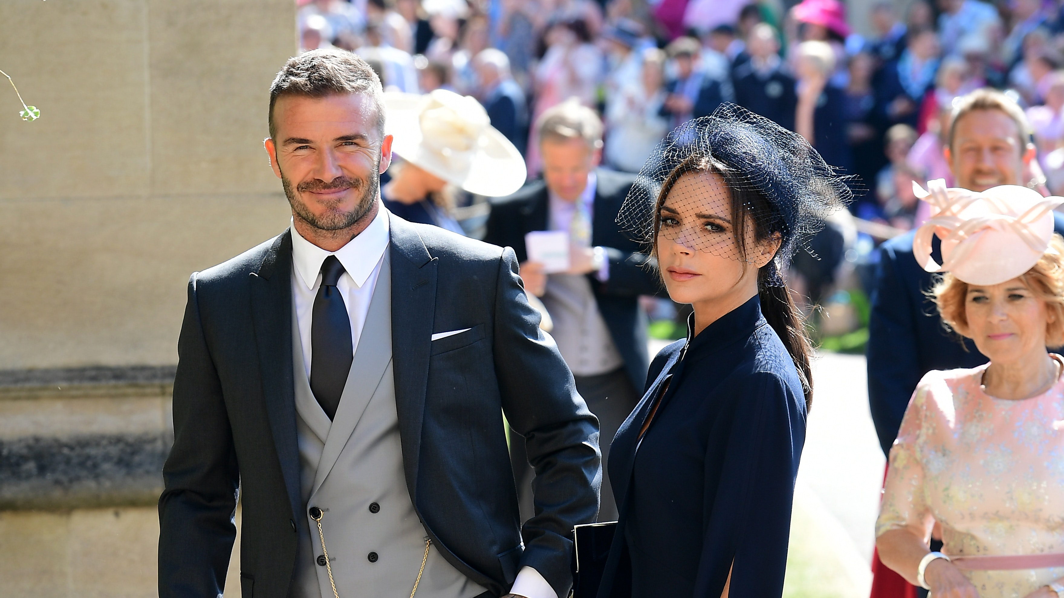 See Victoria and David Beckham Model With Their Kids For Vogue Cover