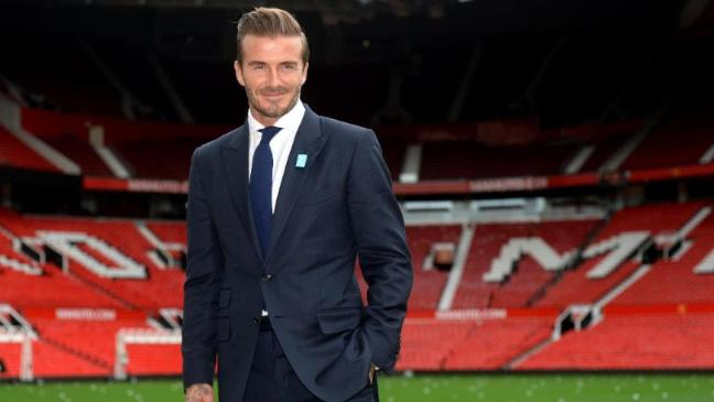David Beckham Brings Football Stars To Old Trafford For Charity