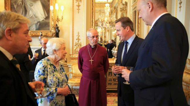 David Cameron telling the queen of England that Nigeria was fantastically corrupt