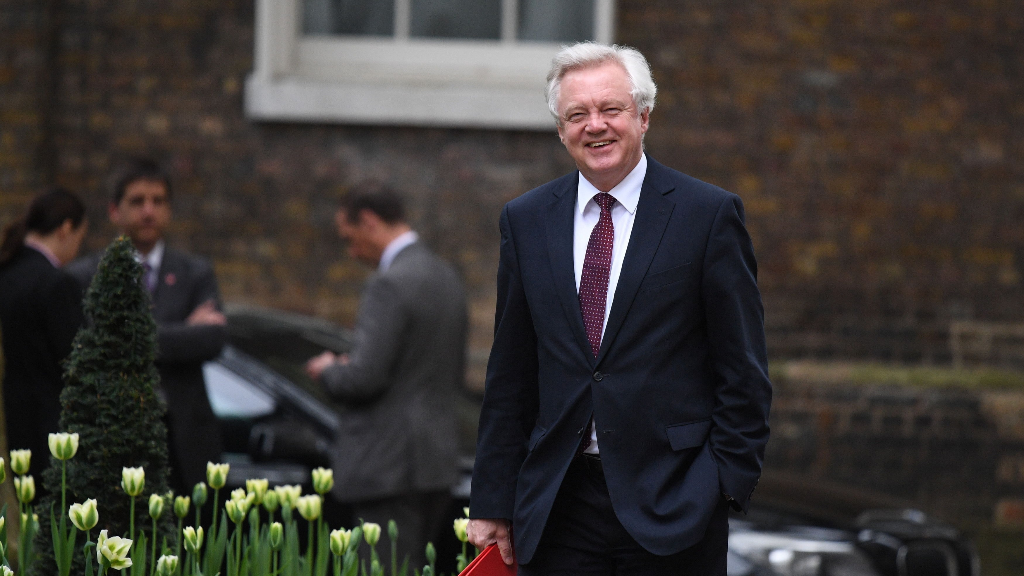 Ireland border solution could come after Brexit, David Davis admits