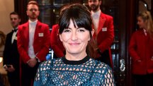 Davina McCall on the red carpet