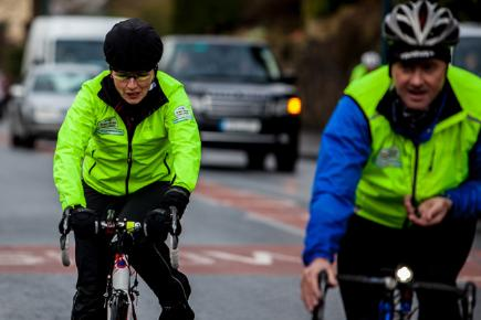 Davina takes to the road for her BT Sport Relief challenge