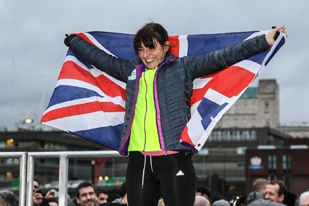 Davina's BT Sport Relief challenge: she's done it!