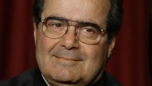 Justice Antonin Scalia's death has sparked a political storm over his succession (AP)