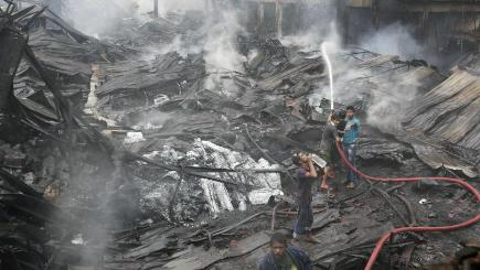 Bangladesh factory fire toll reaches 29