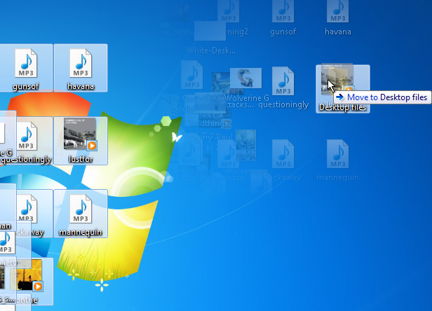 Desktop tidying step 02