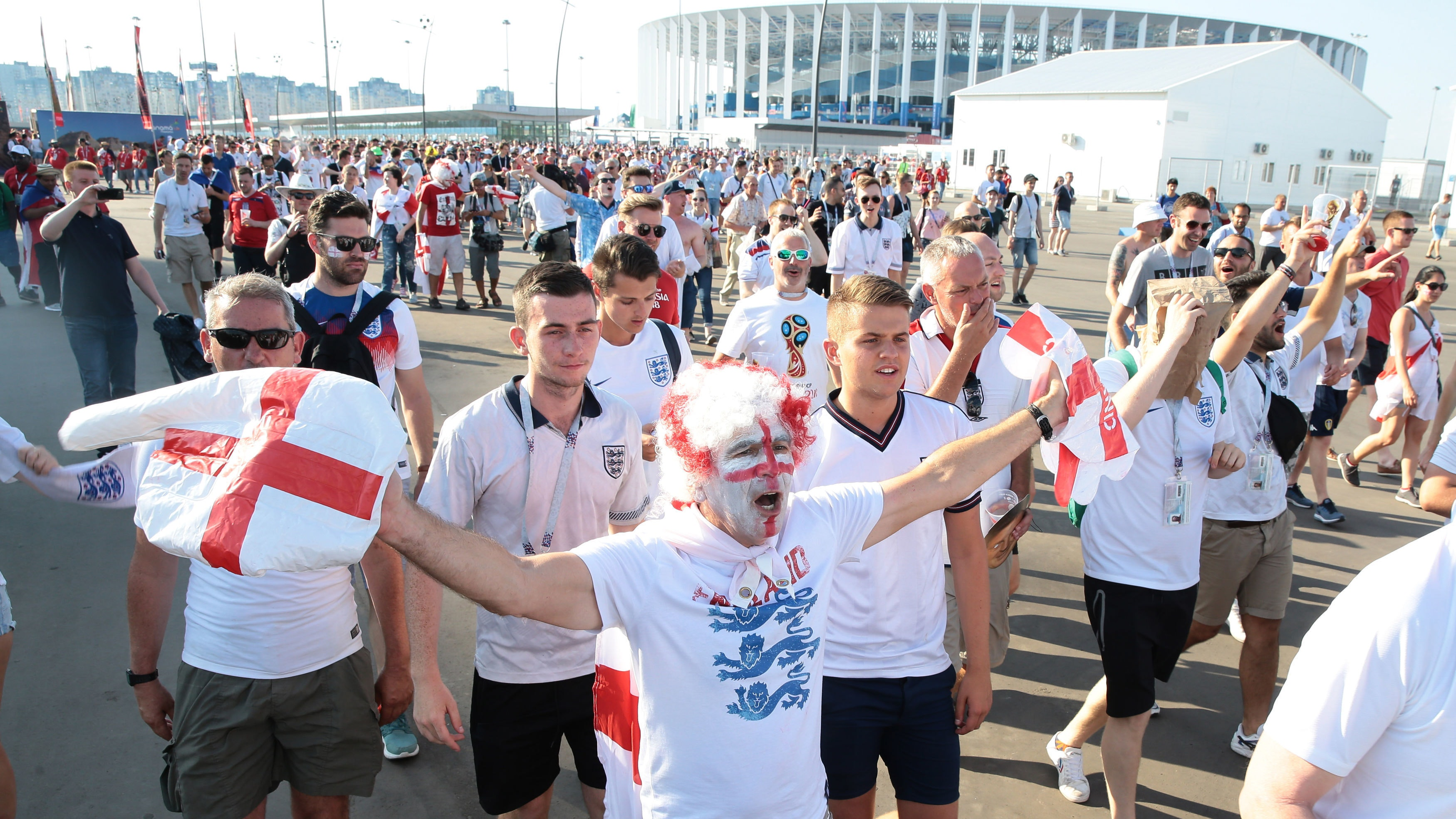 FIFA World Cup: Fans battle it out ahead Croatia vs England semifinal today