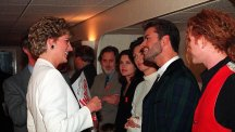 Diana almost outed George Michael, a new book claims