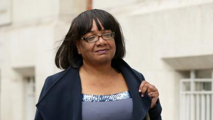 Diane Abbott reappointed shadow home secretary