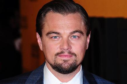 Leonardo DiCaprio arriving for the UK premiere of The Wolf Of Wall Street at the Odeon Leicester Square, London