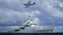 Planes and ships searched the southern Indian Ocean for missing Malaysia Airlines flight MH370