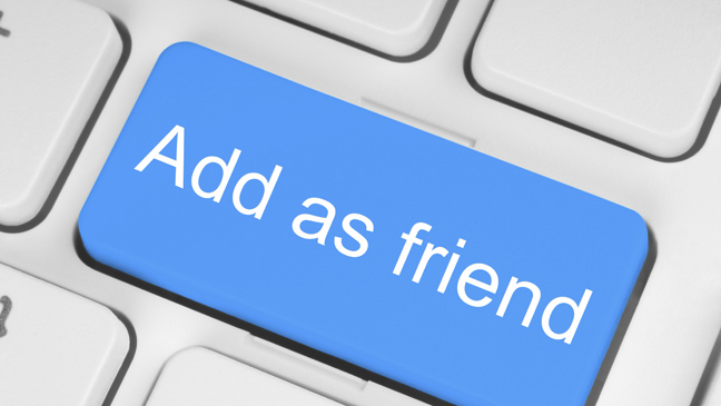 Will facebook friends know if online dating