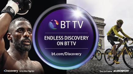 Discovery on BT TV