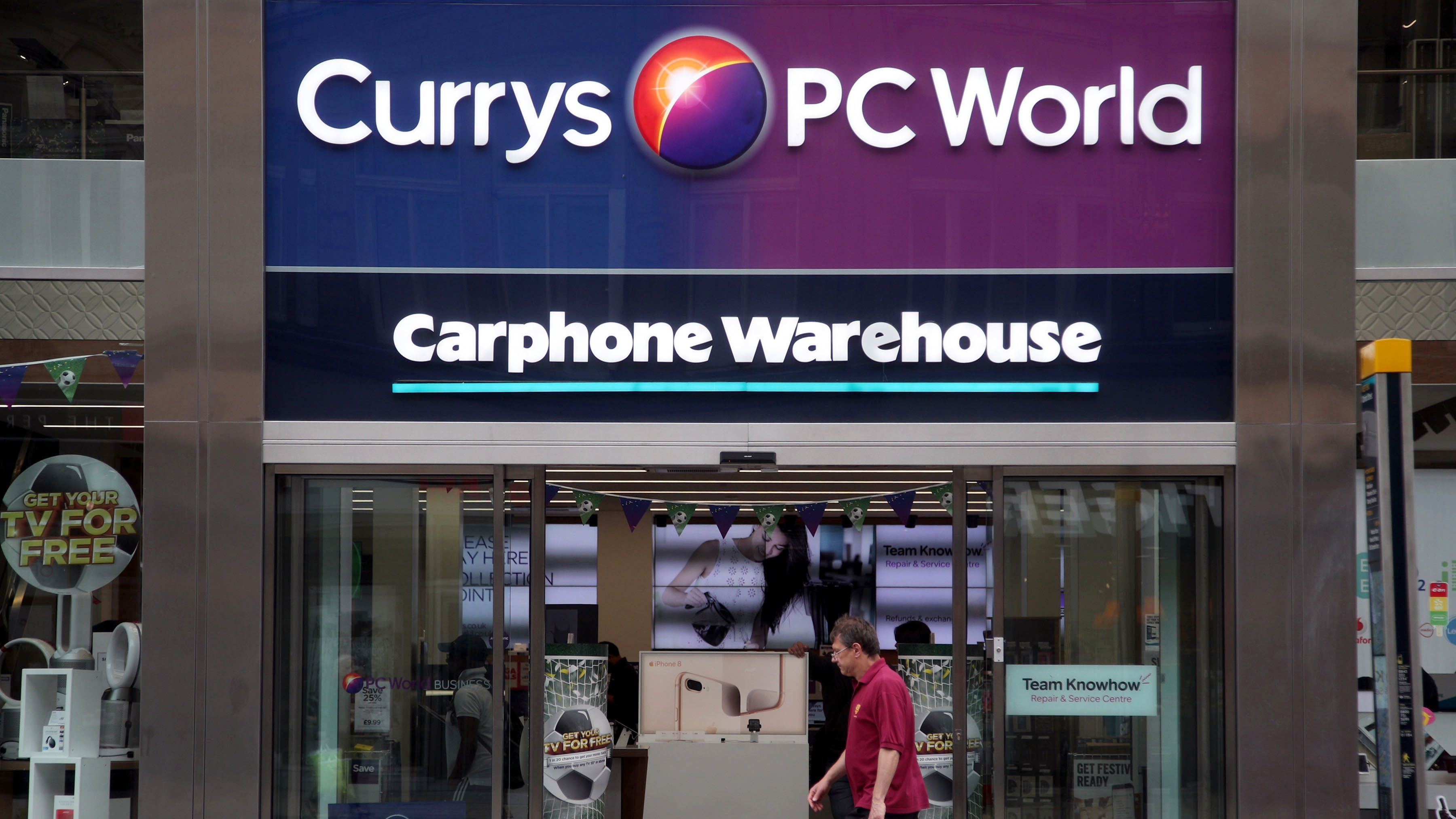 Dixons Carphone hikes to 10-million clients' personal data accessed by hackers