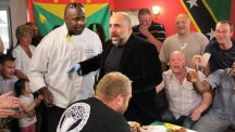 Omid Djalili feels the heat after taking a chilli challenge for his new show Hot And Dangerous on Quest