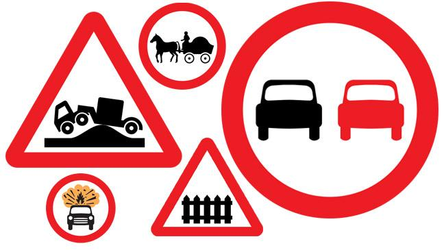 Do you know your road signs? - BT