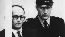 Adolf Eichmann pictured during his trial in Jerusalem in 1962.