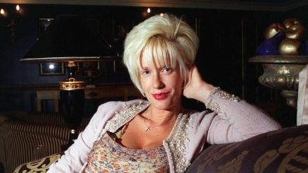 Paula Yates, pictured in 1996.