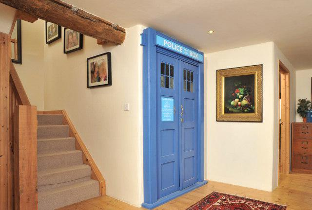 Doctor Who Bedroom Decor Ideas. Would You Buy The Purple House