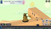 A graphic from a new online game called The Doctor And The Dalek, being launched by the BBC (BBC/PA)