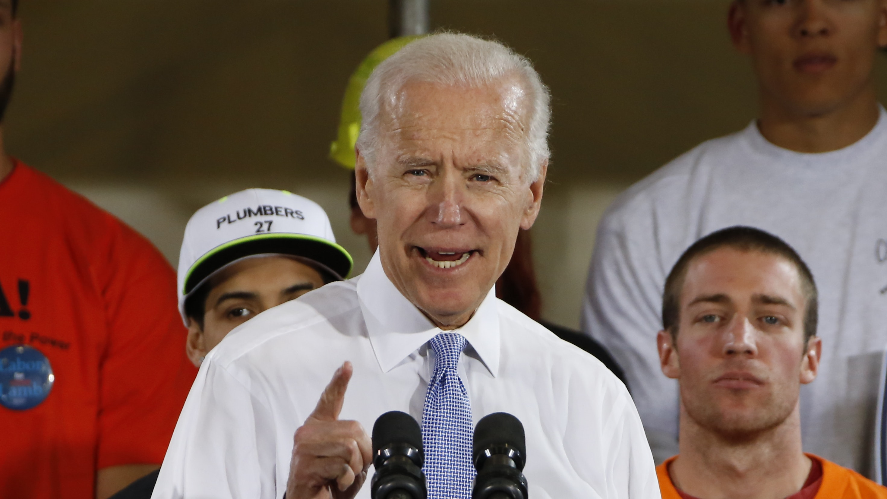 Joe Biden 'would go down fast and hard' in a fight