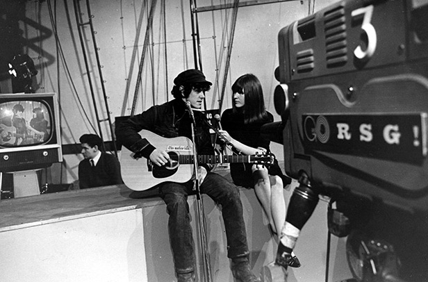 Donovan and Cathy McGowan on Ready Steady Go!
