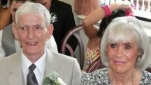 Doting husband dies 'of a broken heart' day after wife passes away