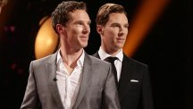 Benedict Cumberbatch met his Madame Tussaud's wax model during filming for The Graham Norton Show