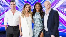 The X Factor judges will say goodbye to two acts this weekend (Syco/Thames TV)