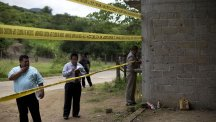 Three soldiers have been charged with homicide in the June killings of 22 suspected gang members in southern Mexico (AP)