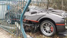 Driver crashes £1m supercar – and it's not even his…