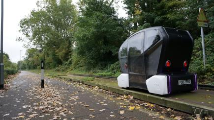 Driverless Pods Are To Be Trialled In Cambridge To Fight