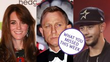 Duchess of Cambridge, Daniel Craig and Mason Noise