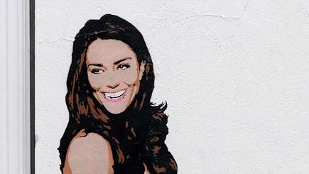 Duchess of Cambridge graffiti