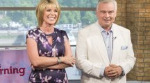 Eamonn Holmes causes a fright in white suit on This Morning