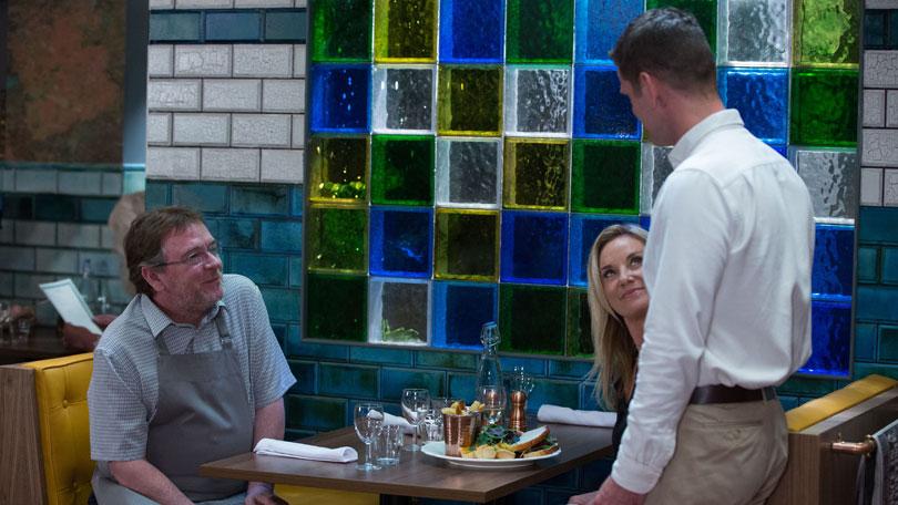 eastenders spoilers ian restaurant