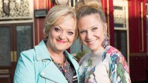Maria Friedman has been cast as Linda Carter's (Kellie Bright) mum Elaine Peacock in EastEnders